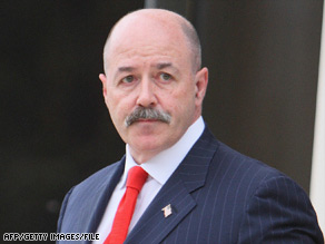 Bernard Kerik served as New York City police commissioner from 1998 to 2002.