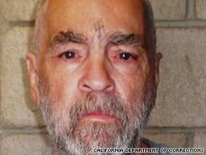 Charles Manson was sentenced to life in prison after the death penalty was ruled unconstitutional in the 1970s.