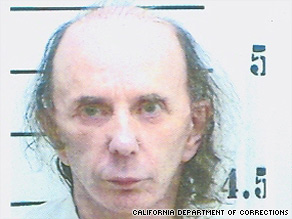 This mug shot of Spector was taken at the L.A. County Jail in April after his conviction.