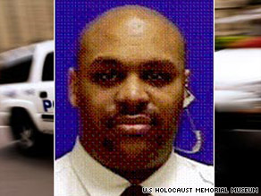 Security officer Stephen Johns reportedly opened the door for the man police say was his killer.