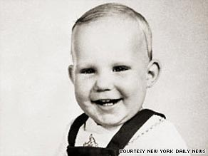 Steven Damman and his sister disappeared from outside a bakery in 1955. His sister was found safe.