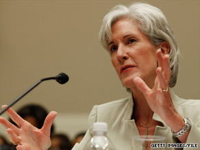 Health and Human Services Secretary Kathleen Sebelius announced the arrests Wednesday.