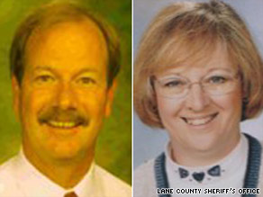 Steven Haugen, 54, and Jeanette Bauman, 56, were shot to death on a camping trip, along with their Lab, Caesar.