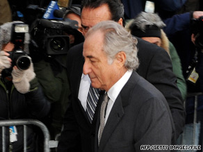Financier Bernard Madoff pleaded guilty to 11 criminal counts in the biggest investment fraud in history.