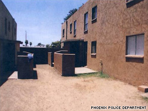 Police say a girl was lured to a storage shed at an apartment complex where she was sexually assaulted.