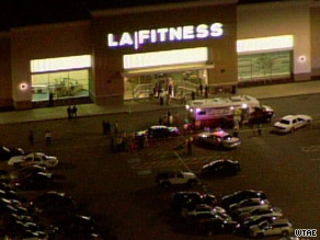 Authorities are at the scene of a shooting at an LA Fitness gym near Pittsburgh, Pennsylvania.