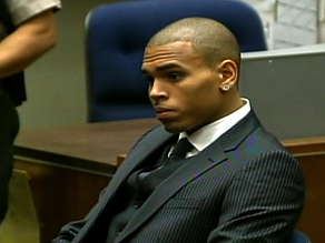 Chris Brown received an expected sentence on Tuesday of probation and community service.