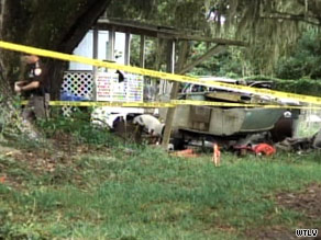 Seven people were found dead Saturday at a residence in a mobile home park in Brunswick, Georgia.