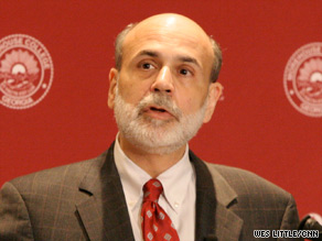 Fed Chairman Ben Bernanke urges Congress to enact reforms.