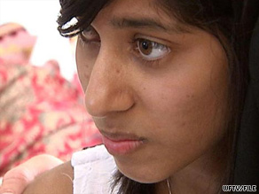 Rifqa Bary, 17, ran away from her family in Columbus, Ohio, in July. She claims her father threatened to kill her.