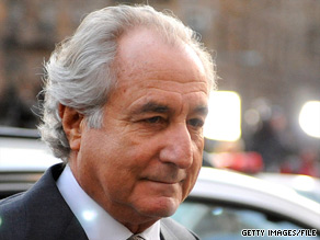 Financier Bernard Madoff is serving a 150-year prison term for defrauding thousands of investors.