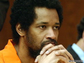 John Allen Muhammad, pictured in 2004, was convicted in the 2002 murder of Dean Harold Meyers.