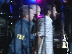 FBI agents raided Najibullah Zazi's home on Saturday and took him into custody.