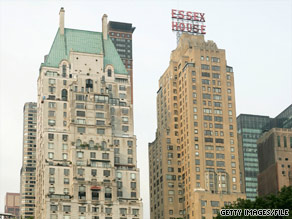 The Jumeirah Essex House is a landmark on Central Park South in New York.