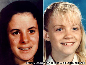Police search for evidence relating to missing girls Ilene Misheloff and Michaela Garecht.