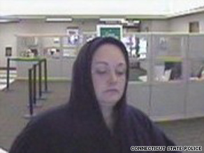 Police released photos of a suspect in the robberies of six New England banks.