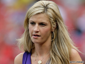 ESPN reporter Erin Andrews claims someone videotaped her while she was nude and posted video online.