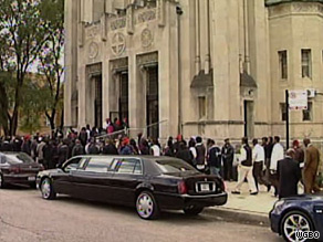 A funeral for Derrion Albert, a teen who was fatally beaten last month, was held Saturday on Chicago's South Side.