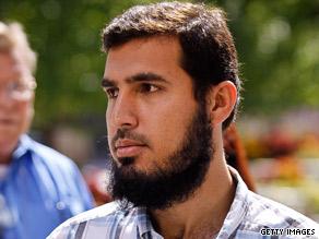 Terror suspect Najibullah Zazi, seen here September 17, is accused of plotting to bomb a New York target.