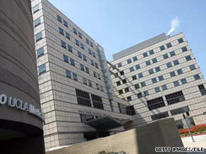 A student stabbing victim is recovering at UCLA Medical Center, authorities say.