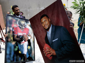 Steve McNair, former NFL quarterback, was a married father of four when he was killed last summer.
