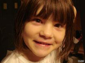 Somer Thompson, 7, was last seen Monday on her way home from school.