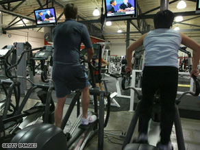Need to exercise more? Sign up to CNN's new Facebook application Health Pledge and get your friends to support you.