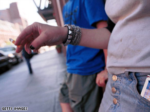 An estimated 4.5 million U.S. adolescents are cigarette smokers.