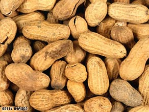 Peanut butter and peanut paste processed in a Georgia plant have been linked to an outbreak of salmonella.