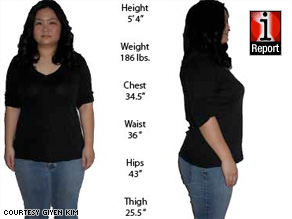 """Giyen Kim has gone from 190 to 186 pounds in four weeks. A doctor says that's """"very reasonable."""""""