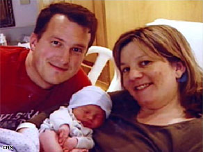 Carrie Vincent had a heart attack at age 31, just days after giving birth to her son.