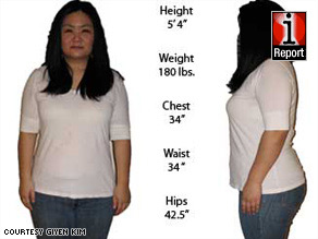 Giyen Kim, 34, has lost 10 pounds since January 1. She said she feels like it will be easier to lose more weight.