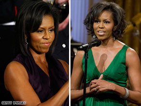 Michelle Obama's appearances in sleeveless outfits have inspired some women to start toning their arms.