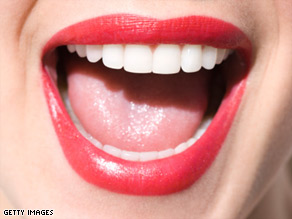 There's a slew of bacteria floating around in your mouth, but it's generally harmless.