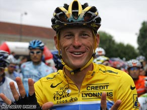Lance Armstrong's doctor says he used a plate and 12 inch-long screws to stabilize the fractured bone.