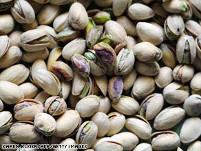 North Carolina-based grocery chain Harris Teeter voluntarily recalled its pistachio nuts.