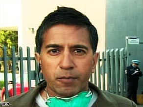 CNN's Dr. Sanjay Gupta, reporting outside a Mexico City hospital, says people can't get swine flu by eating pork.