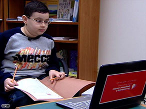 """""""I think it will help him connect with his classmates,"""" says teacher Lynda Decker Gallagher."""