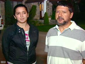 New York high schooler Arianna Anastos and dad Chris talk with CNN's Anderson Cooper about the outbreak.