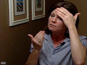 Stephanie White, 41, caught her melanoma early because she was familiar with the blemishes on her skin.