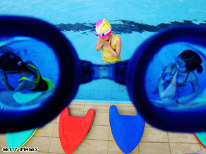 About one in five adults in a survey reported urinating in community pools.