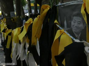 The suicide of former president Roh has shocked South Korea.
