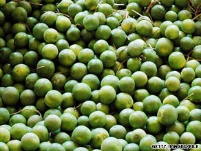 Limonene, found in limes, gives many people watery eyes and a burning sensation in the nose, say doctors.