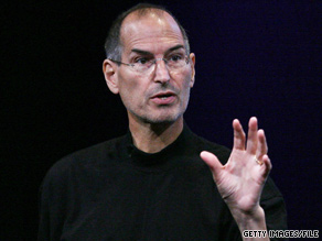 Steve Jobs (pictured in October 2008) has been on a health-related leave of absence since January 2009.