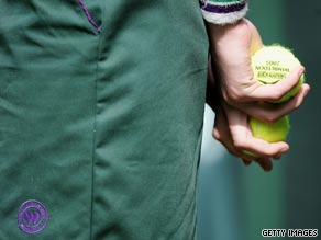 28 Wimbledon staff are reported to have suspected swine flu.