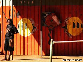 Health officials have warned that Australia's Aborigines may be more vulnerable to swine flu.
