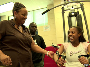 Green-Jackson's program has helped about 4,000 students lose thousands of pounds.
