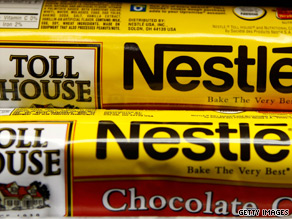 Nestle recalled all its Toll House refrigerated cookie dough products made at a Danville, Virginia, plant.