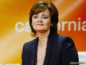 Cherie Blair, wife of former British premier, Tony Blair is reportedly suffering from swine flu.