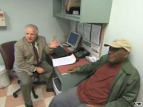 John Reid, shown with his regular doctor Neil Calman, says race played a role during an ER visit.